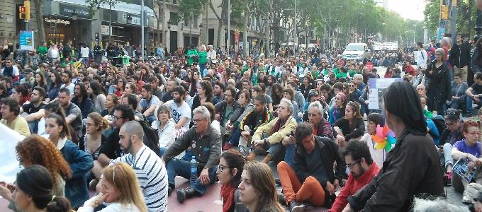 15M 2016 a Barcelona