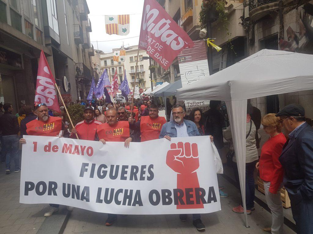 1 de maig Figueres 2018 - 2